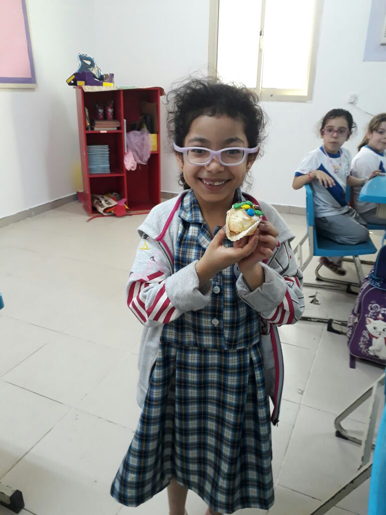 Grade 1E: Cupcakes Decoration