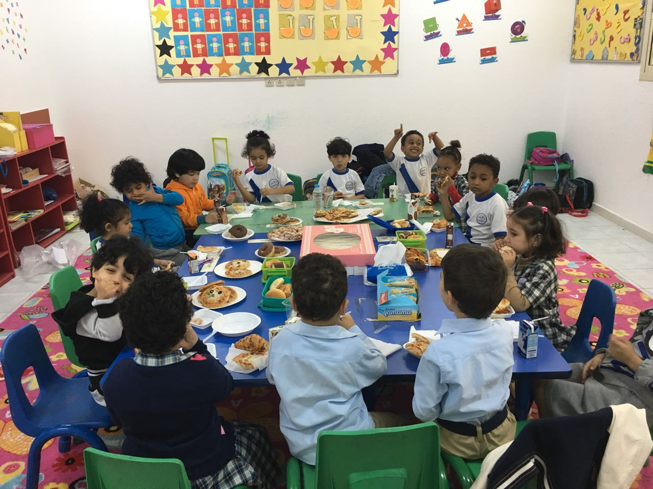 KG 2 Stars: Sharing Day