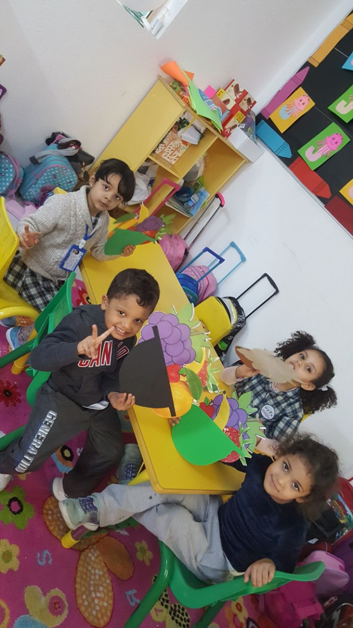 KG2 Colors Activity:  Letter F