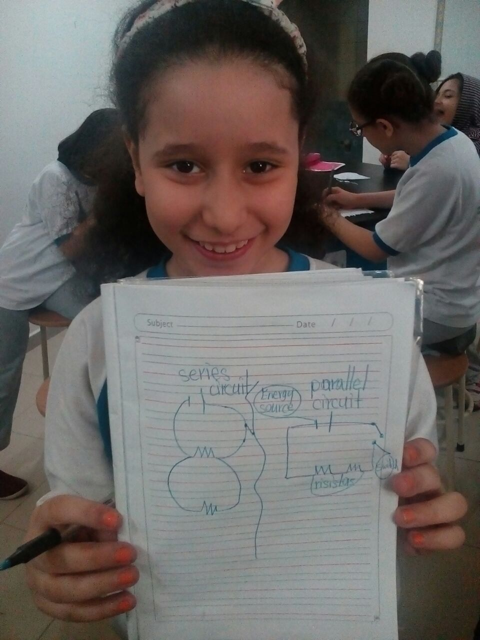 Grade 4 (Girls) Science Activity