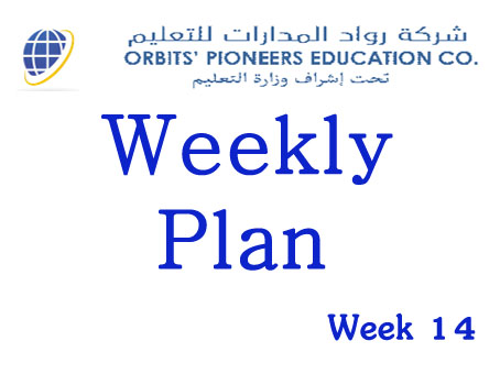 Weekly Plan Week 14 Grades 1 to 9