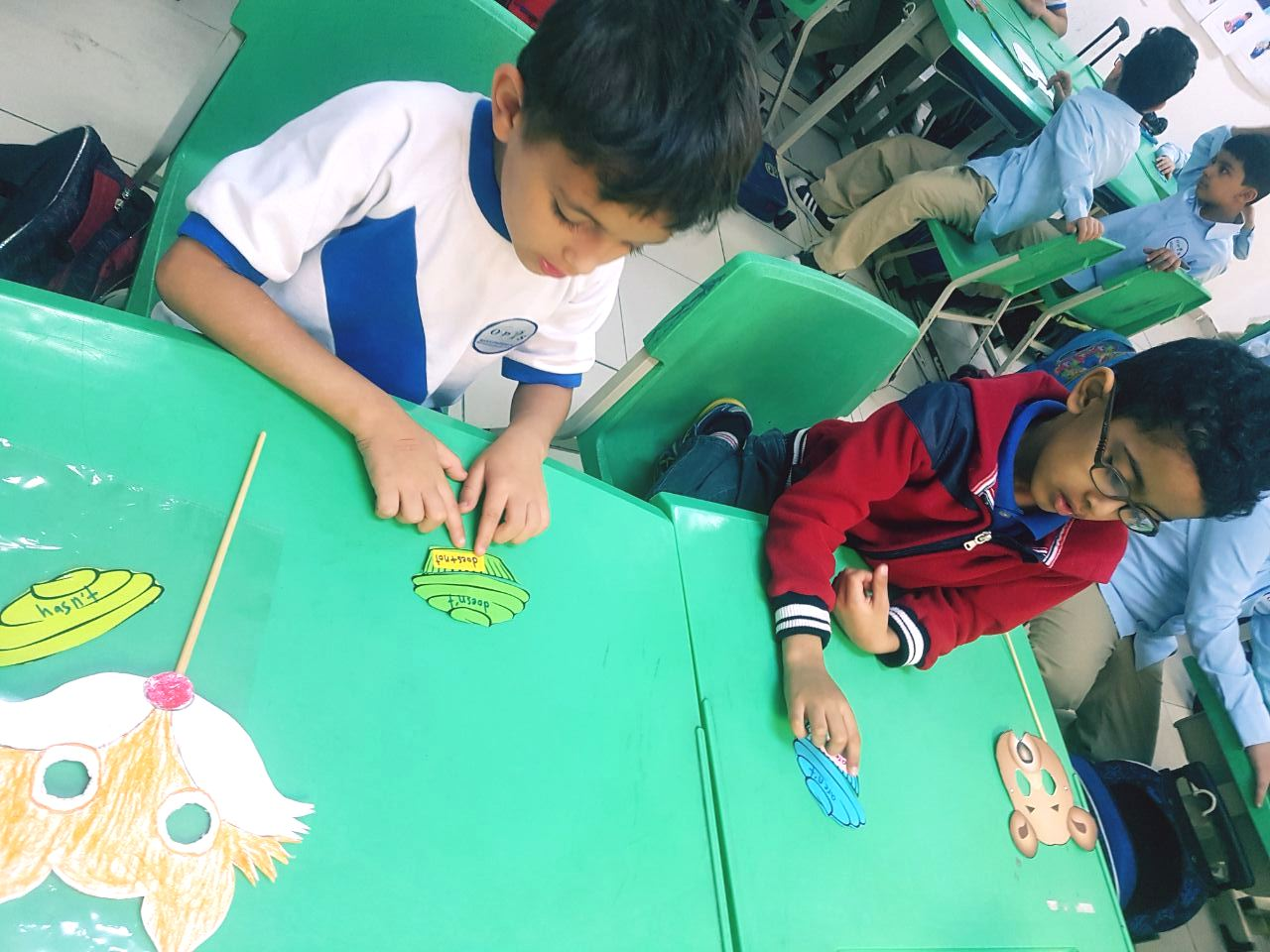 Grade 1A: Contraction (grammar) Activity