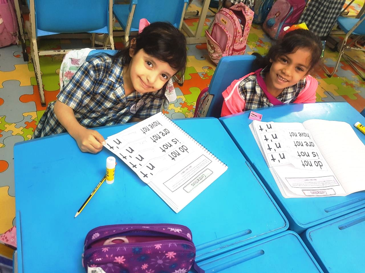 Grade 1D: Interactive Notebook Activity