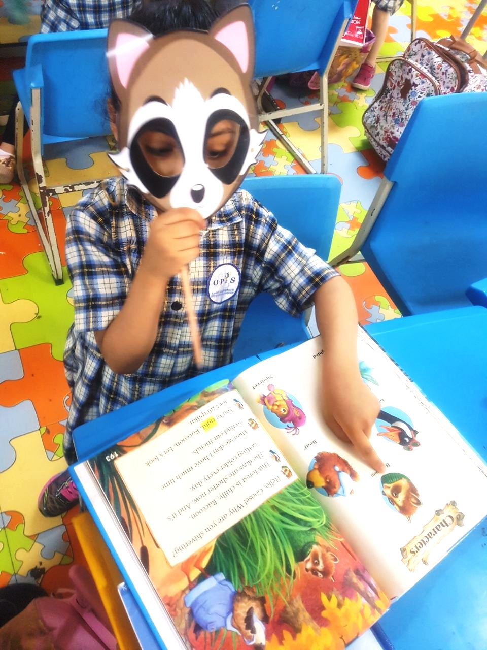 Grade 1A and 1D: Role Play Activity