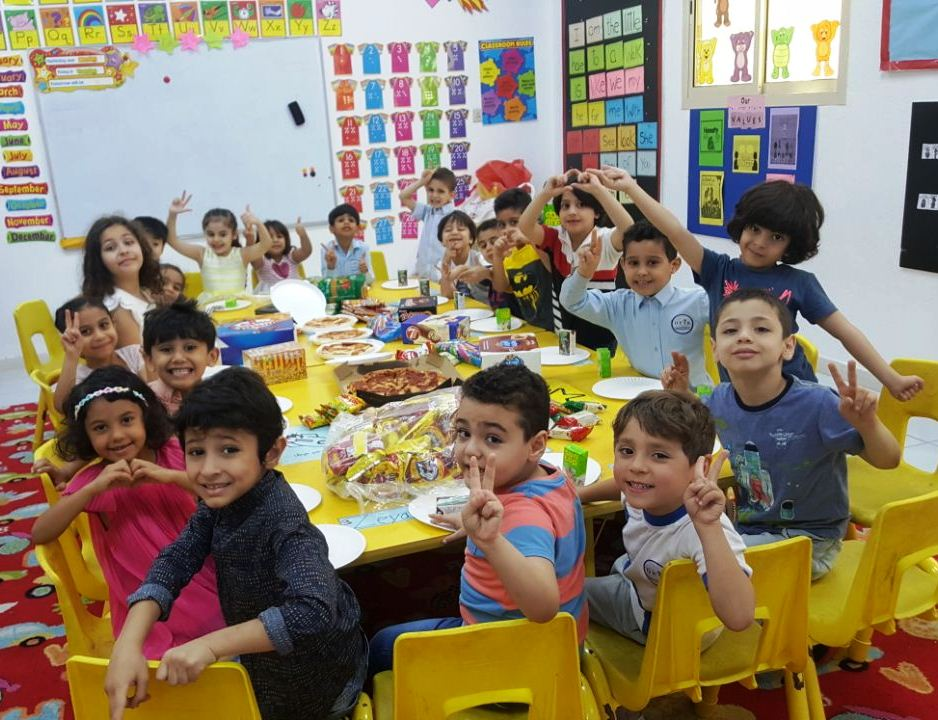 KG 3 Space: Last day of school party