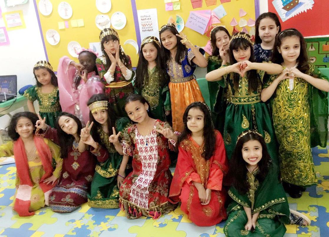 Grade 1C: International Day